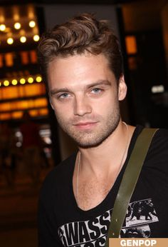 This is my pick for Chrisian Gray. His name is Sebastian Stan. This year he played the Mad Hatter on Once Upon a Time.