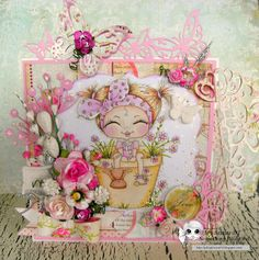 Something Beautiful By Julie: Use your favourite colours at Scrapbook Stamp Society