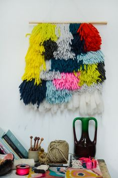 natalie miller weaving via the red thread