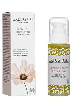 22 Global Beauty Brands You Need Now #refinery29  http://www.refinery29.com/international-beauty-brands#slide32  Estelle & Thild Rose Otto Facial Oil, £46, available at John Lewis.