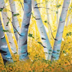 Title:  Between the Season  Size:  4' x 4'  Acrylic on Canvas  Artist: Nancy DESPINS Pear, Seasons, Canvas, Prints, Artist, Blue, Painting, Tela, Artists