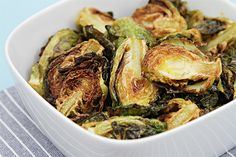 Flash-fried Brussels Sprouts with Garlic and Lime - Vegan