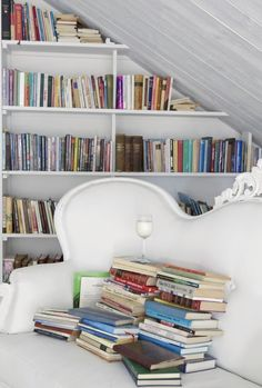book stack. Pandashouse
