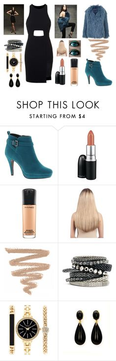 """""""Be one KK"""" by mizzlem on Polyvore featuring moda, Topshop, Beacon, MAC Cosmetics, Extension Professional, H&M, Style & Co., inspiration e befree"""