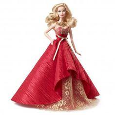 Poupée mannequin de collection Barbie joyeux Noël