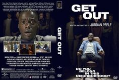 Get Out (2017) DVD Custom Cover