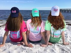 Top it off with Southern Girl Prep!! ☀️ Check out all our baseball caps at southerngirlprep.com