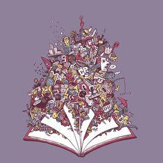 """Podívejte se na můj projekt @Behance: """"""""Mezi náma""""  illustration for event"""" https://www.behance.net/gallery/44408219/Mezi-nama-illustration-for-event."""