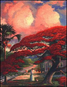 Florida Highwaymen. - a group of mainly 20 black men who sold their amazing art door-to-door and on the highway
