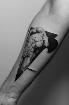 Roberto Ferri tattoo by Pawel' Indulski