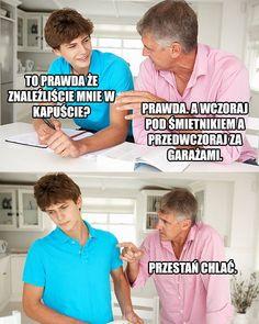 Polish Memes, Weekend Humor, Some Quotes, Wtf Funny, Haha, Joker, Alcohol, Ha Ha, The Joker
