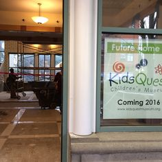 Sneak peek! Work is starting to make our future location a wonderful learning center for all children!