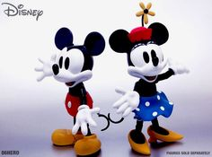 NEW 86 Hero Hybrid Disney Chogokin Die-cast Mickey & Minnie Mouse Set MIB in Toys & Hobbies | eBay