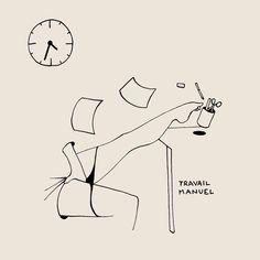 """""""Hand Job""""  un post un peu plus tôt que d'habitude, car c'est à 16h34 aujourd'hui que les femmes françaises devraient arrêter de travailler jusqu'à l'an prochain, pour compenser la différence de salaire à emploi égal avec leurs collègues masculins. Alors Mesdames, vous pouvez arrêter de bosser pour prendre un peu de bon temps ! ✊ / Today's post is unusually early, because today at 4:34pm (Paris time) is the exact time when french women should stop working until next year, to offse..."""