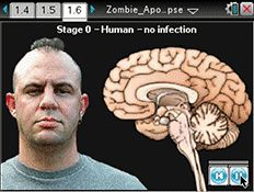 STEM of the Living Dead, Zombie Apocalypse, a Hollywood-inspired TI-Nspire™ math and science activity.