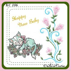 KarinsCreations Basic Embroidery Stitches, Embroidery Flowers Pattern, Paper Embroidery, Flower Patterns, Patterned Sheets, Beautiful Handmade Cards, Small Cards, Flowering Trees, Metallic Thread