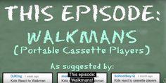 Ce părere au copiii despre walkman (VIDEO)