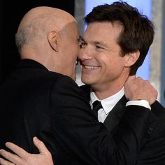 "Jason Bateman Calling Jeffrey Tambor ""Dad"" Will Fill Your Arrested Development-Loving Heart With Joy Jason Bateman, Sag Awards, Love Heart, Popsugar, Actors & Actresses, Hug, Dads, Entertaining, Photo And Video"