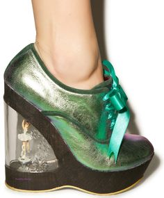 Irregular Choice World Exclusive Glissade Musical Ballerina Heel UK4 EU37 in Clothes, Shoes & Accessories, Women's Shoes, Heels | eBay