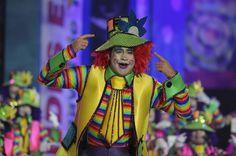 Grupo Mascarada Carnaval: Rubén García y Javier Suárez, en la dirección de R...