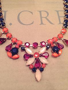J Crew statement necklace.