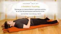 """Buddhist teaching from Jack Kornfield. From """"Offerings,"""" item BK307, dharmacrafts.com."""
