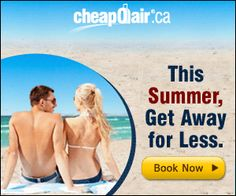 Q7blog: CheapOair.ca Summer Travel Deals This Summer, Get Away for Less. Incredible Discounts on Flights & Hotels! Get C$15 Off with Promo Code SUMMER15. BOOK NOW!