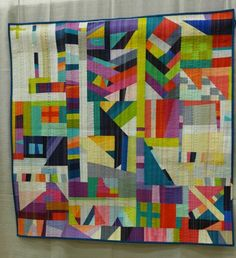 The Rabbit Hole by Nadia Kehnle: 1st place winner in Improvisation category at QuiltCon 2015.