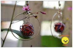 Aros enredados - Miercoles Citrus  www.facebook.com/Miercolescitrus