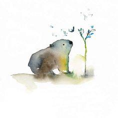 Blule - Joey - little Wombat from OZ