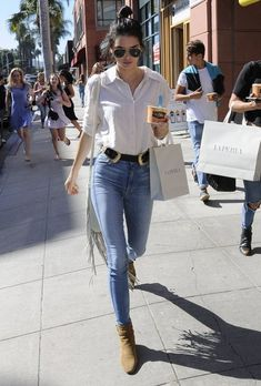 Kendall Jenner Button Down Shirt