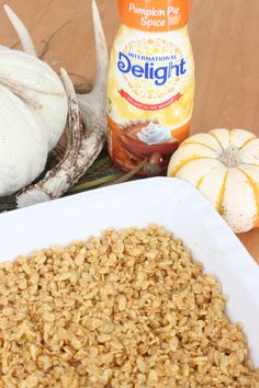 This Pumpkin Pie Spice Rice Krispies recipe will add a touch of delight to your next holiday party! Check out the step by step recipe today! Rice Krispie Treats, Rice Krispies, Pie Spice Recipe, Spiced Rice, Pumpkin Pie Spice, Recipe Today, Fall Recipes, Touch, Snacks