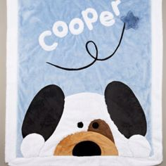 Baby boy blanket idea