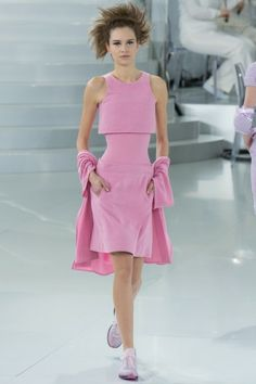 I think Chanel went a little crazy with this one, haha --Pink Chanel Suit