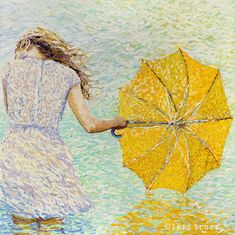 Artist Paints Elaborately Colorful Scenes Using Only Her Fingers - My Modern Met