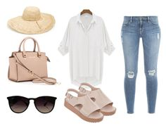 Laeluir by aleperez on Polyvore featuring Frame Denim, Melissa, MICHAEL Michael Kors, Nordstrom and Ray-Ban