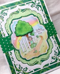 Creative Smiles - my little world: Think Green! {Scrapy Land} {Christina Hor}