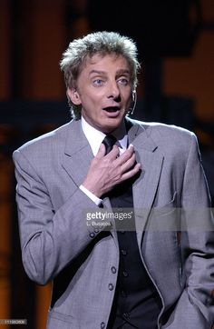 barry manilow getty images | Barry Manilow during his opening night performance at Radio City Music ...