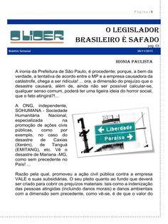 OEB.Lider: O Legislador Brasileiro é safado
