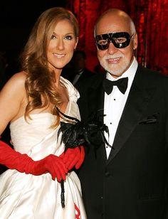 Celine and husband Rene