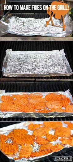 {Party Food} Grilled BBQ Sweet Potato Nachos!
