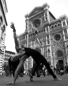 Yoga In Florence & Rome by Robert Sturman Il Duomo, Florence Pictured: Ashika Gogna Loved and pinned by www.downdogboutique.com #Yoga