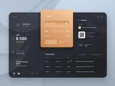 Elastos Wallet designed by Sèrgi Mi for Fireart Studio. Connect with them on Dribbble; the global community for designers and creative professionals. Dashboard Ui, Dashboard Design, Design Thinking, Excel Tips, Design Ios, Ui Design Inspiration, Daily Inspiration, Ui Web, Web Layout