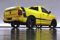 ram 1500 decal kits   Ram 1500 Rumble Bee Concept Rear Side View