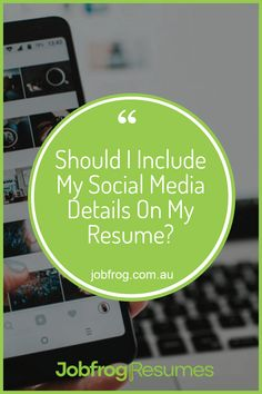 Should I Include My Social Media Details On My Resume #resume  #jobsearch  #career  #job  #jobs  #careers  #hiring  #employment  #resumewriter  #interview  #work  #recruitment  #resumetips