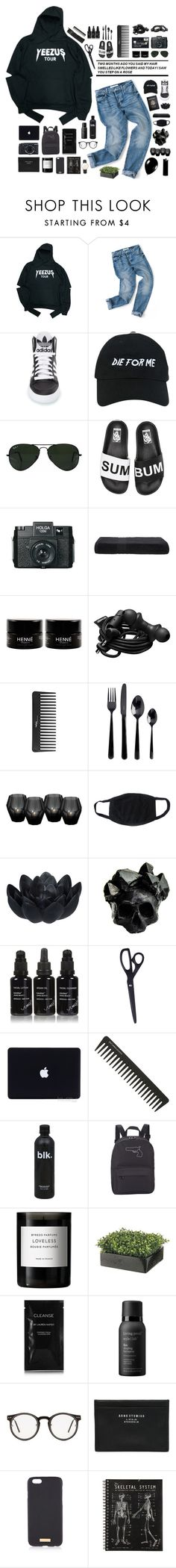 """""""elliot."""" by tzingfung ❤ liked on Polyvore featuring adidas, Nasaseasons, Ray-Ban, Vans, Holga, Passport, Urbanears, Sephora Collection, Viners and Eichholtz"""