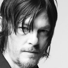 the classic dark stare from norman reedus
