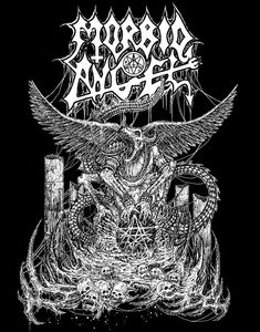 #MorbidAngel #poster #flyer #blackmetal #blackenedmetal #metalhead #metal #heavymetal #brutal