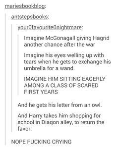 Have some Harry Potter feels. - Album on Imgur