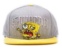 Cappellino grigio da baseball di Spongebob d84a1601f42e